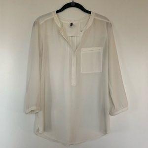 NYDJ white blouse
